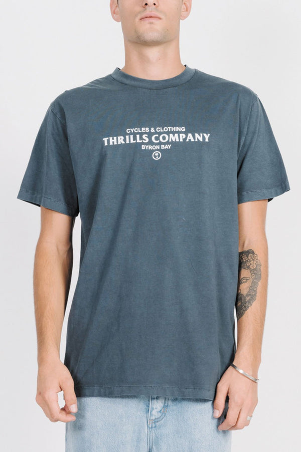 Thrills Mens Never Broken Merch SS Tee - Front