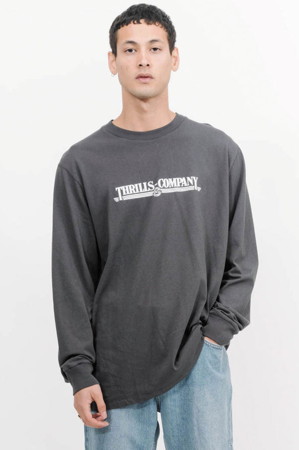 Thrills Up To Speed LS Tee - Front