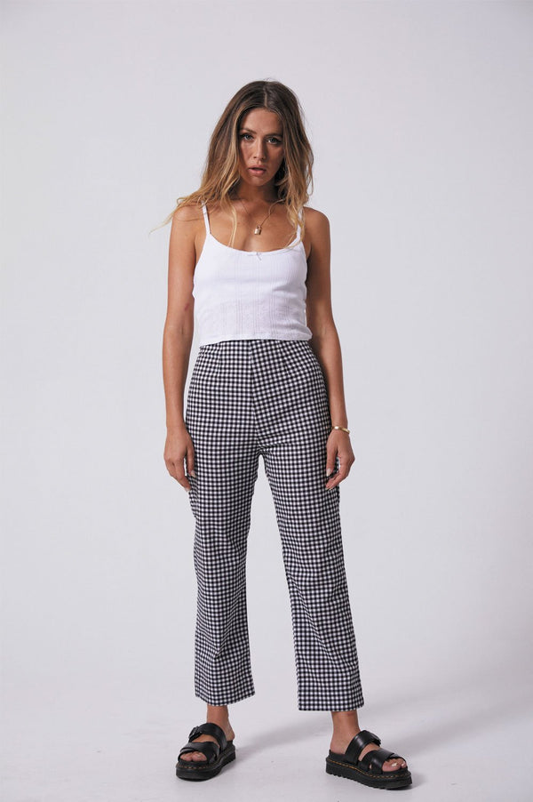 Afends Ladies Ryder Pant - Front