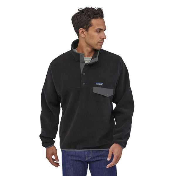 Patagonia Mens LW Synch Snap-T Hood