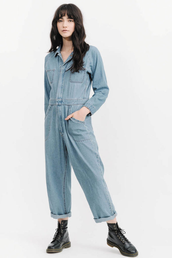 Thrills Tab Jumpsuit - Front