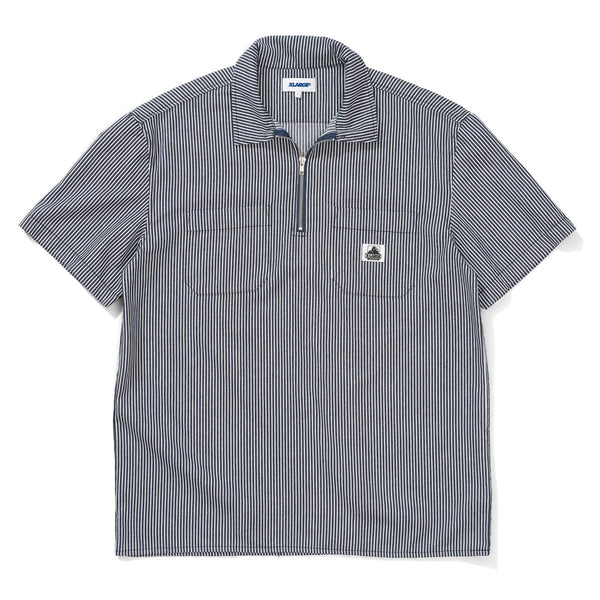 X-Large Mens 1/4 Zip Work SS Shirt