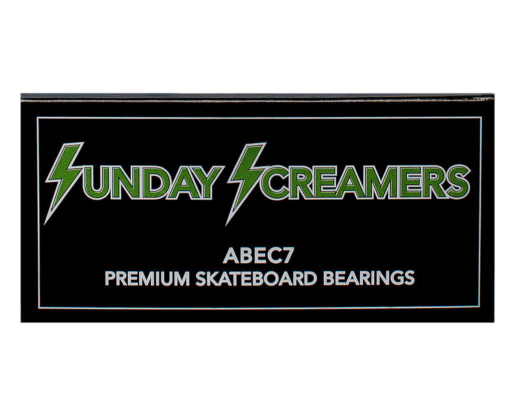 Sunday Hardware Abec 7 Screamers Bearings