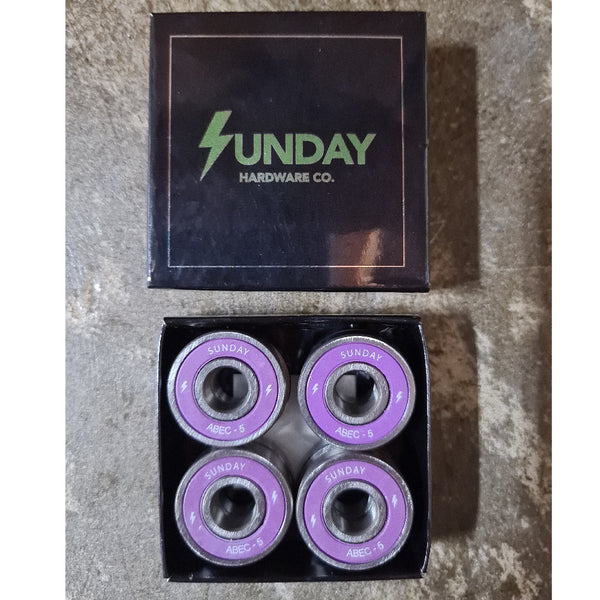 Sunday Abec 5 Bearings