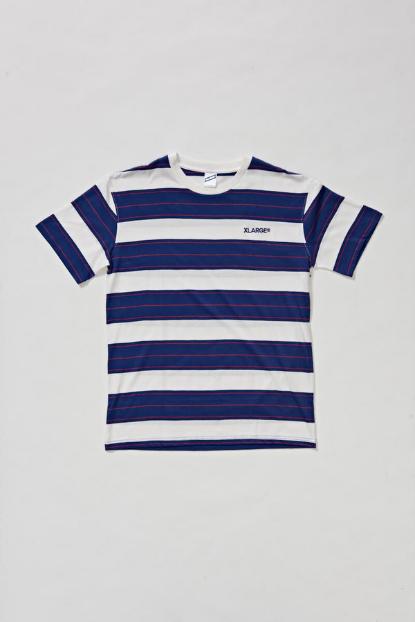 X-Large Mens Castle Stripe SS Tee