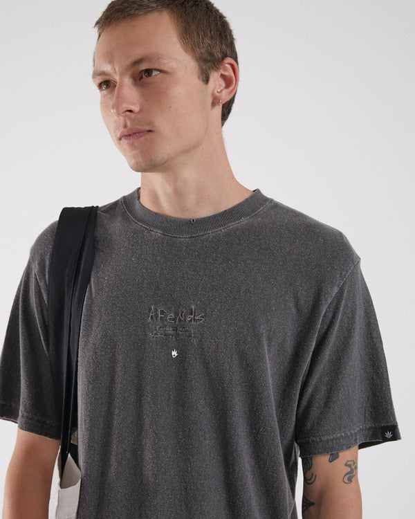 Afends Mens Static To Violent SS Tee