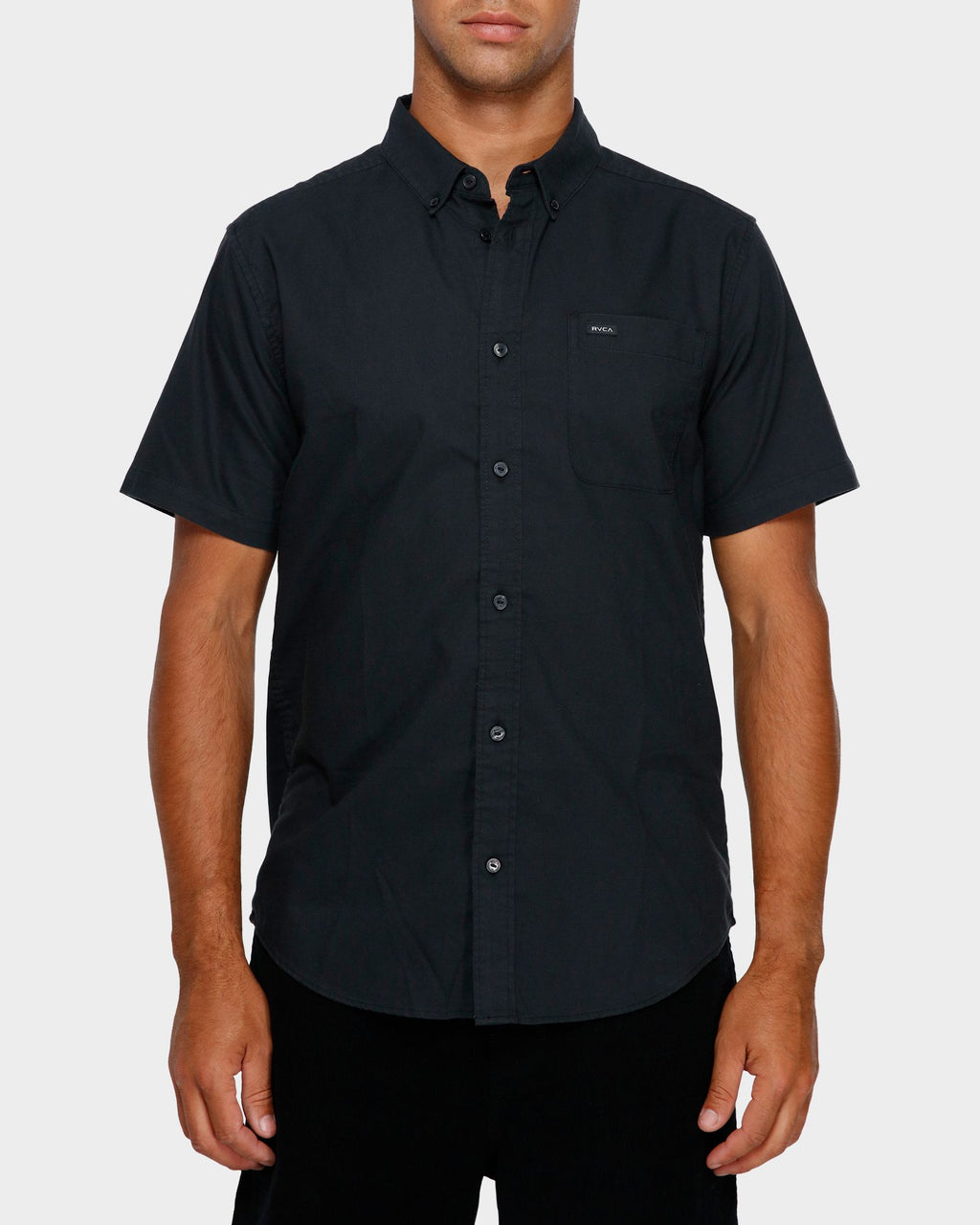 RVCA Mens Thatll Do Stretch SS Shirt