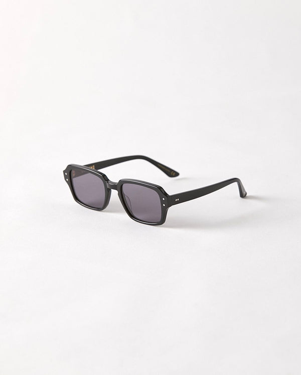 Epokhe Wilson Sunnies - Black Polished/Black