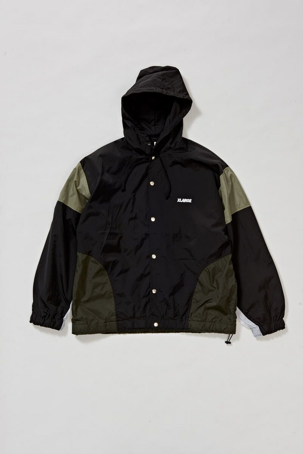 X-Large Mens Nylon Team Jacket - Front