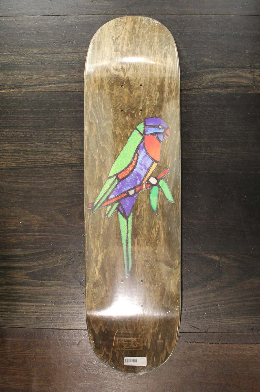 "Pass~Port Stainglass Series Josh Pall 8.125"" Deck ~LORI"