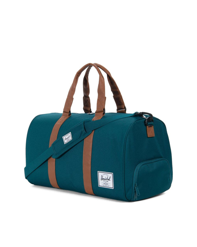 Herschel Novel Duffle Bag- Deep Teal/Tan