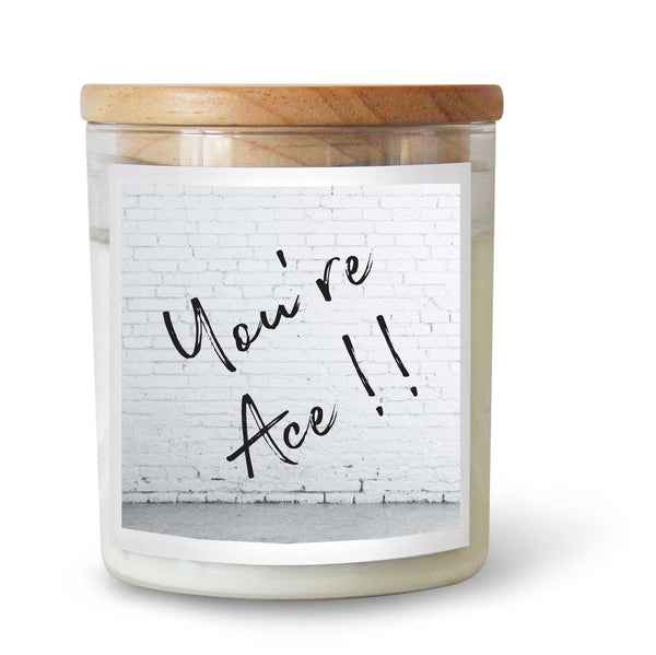 TCC You're Ace Candle- Hudson Valley