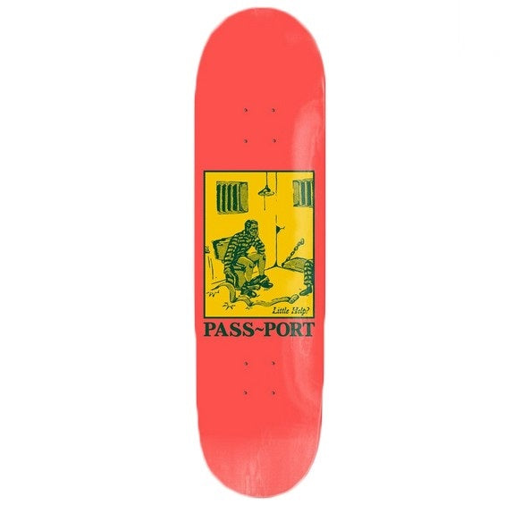 "Pass~Port Pozter Little Help? 8.38"" Deck"