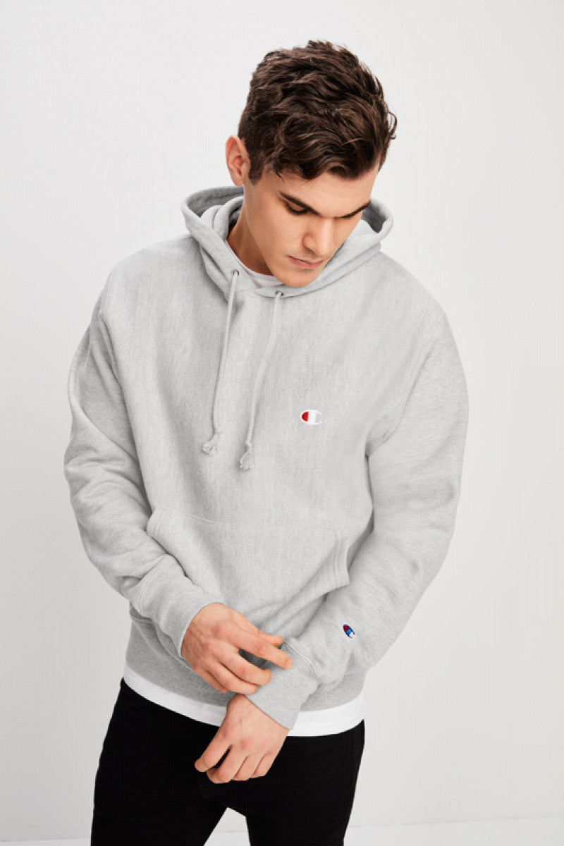 Champion Mens Reverse Weave Hood - Front