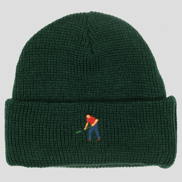 Pass~Port Mens Full Time Beanie - Front