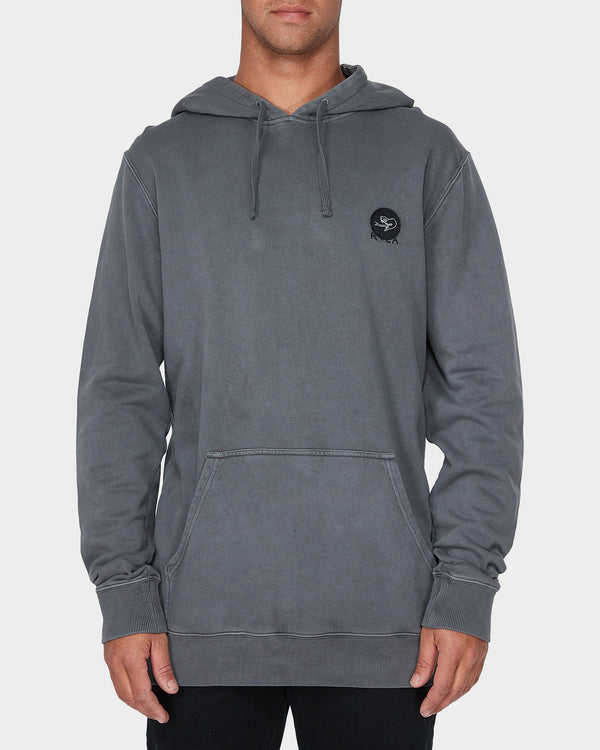RVCA Mens Eternal Struggle Hood - Front