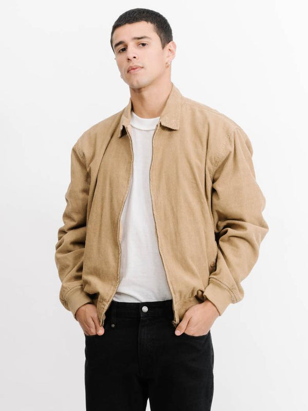 Thrills Mens Minimal Thrills Harrington Jacket - Front