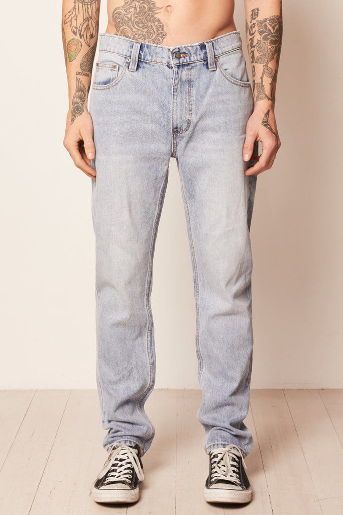 Rollas Relaxo Jeans- Original Stone