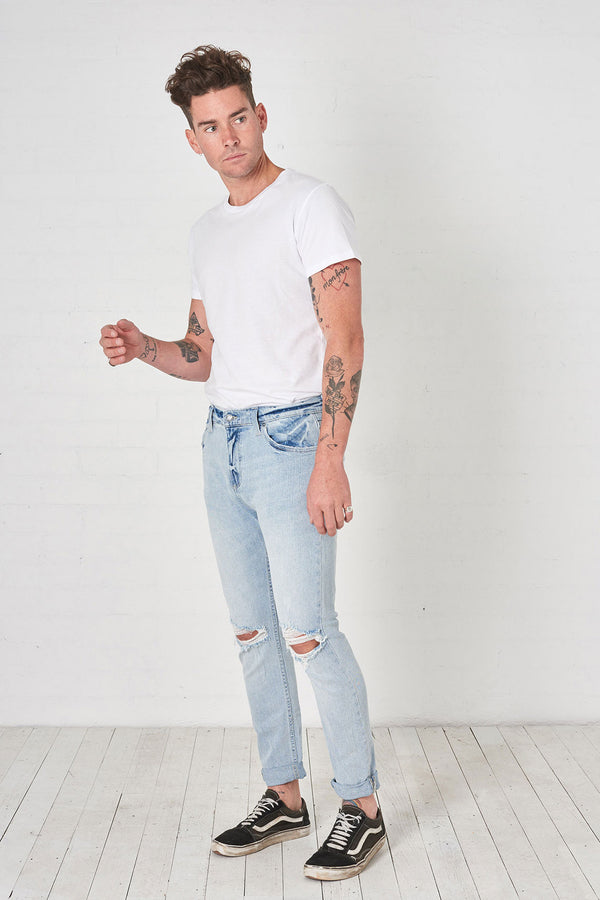 Rollas Mens Rollies Jeans - Front