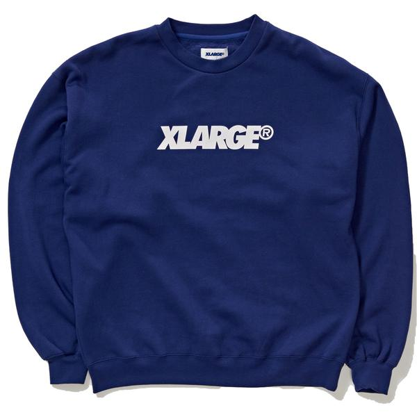 X-Large Mens XL Text Crewneck
