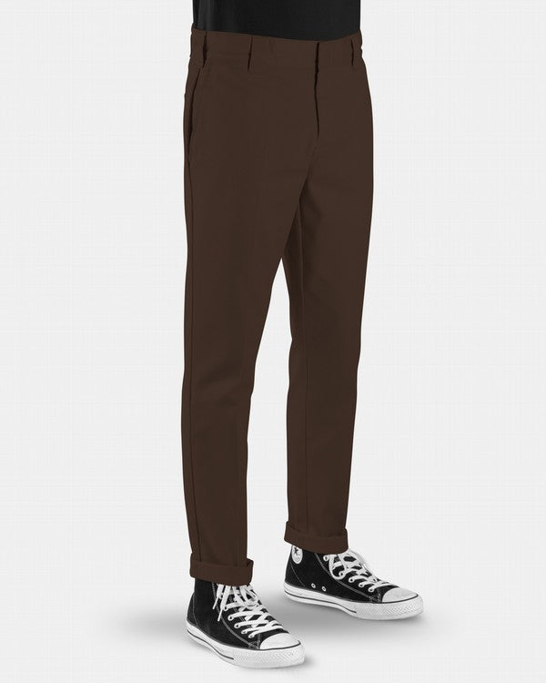 Dickies Mens 872 slim Tapered Pants - Front