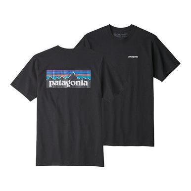 Patagonia Mens P-6 Responsibility Logo SS Tee - Front
