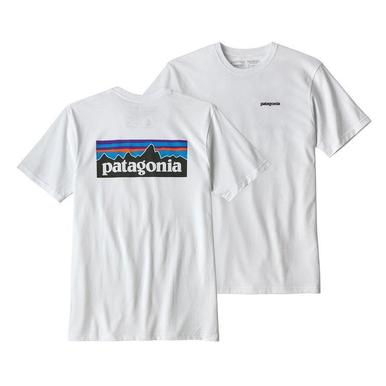 Patagonia Mens M's P-6 Responsibility Logo SS Tee - Front