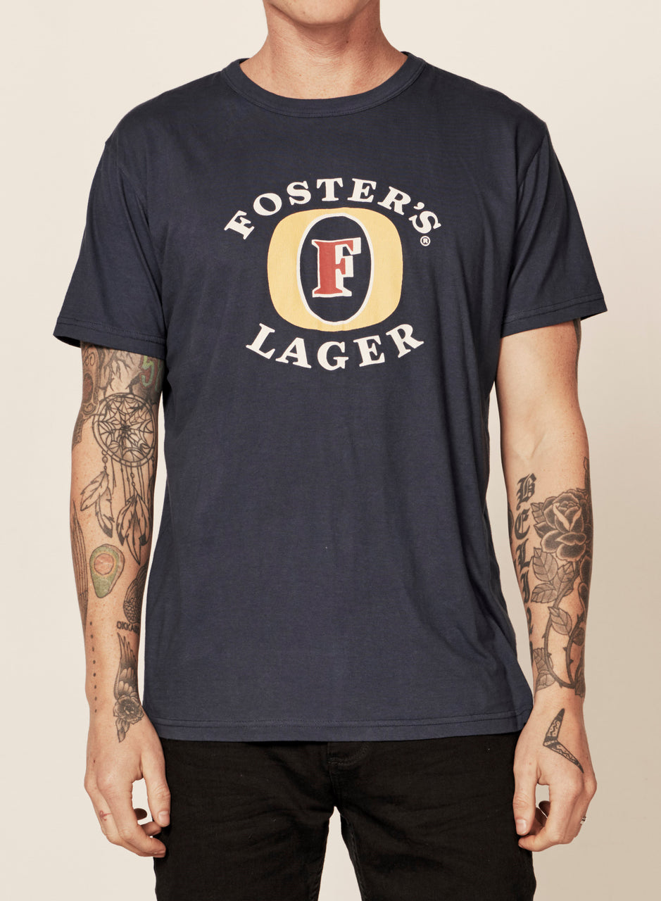 Rollas Mens Fosters Flock SS Tee - Front