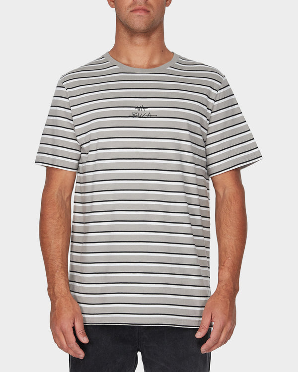 RVCA Mens Slasher SS Tee - Front