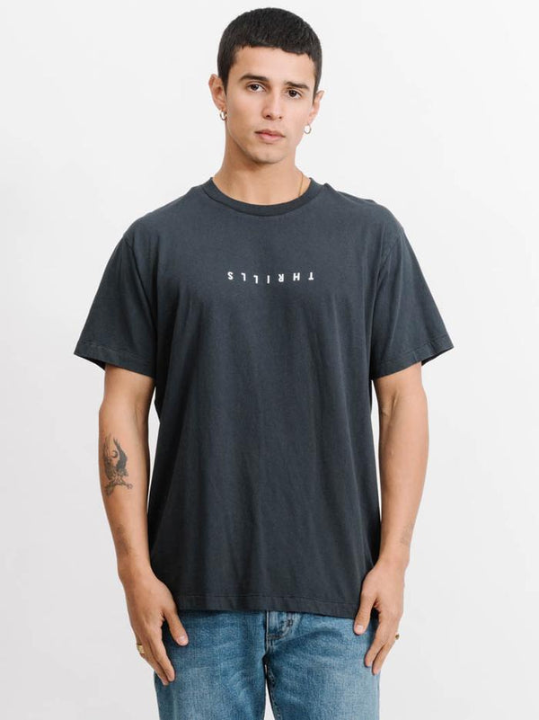 Thrills Mens Minimal Thrills Merch Fit SS Tee