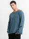 Thrills Mens Sign Off Waffle LS Tee - Left