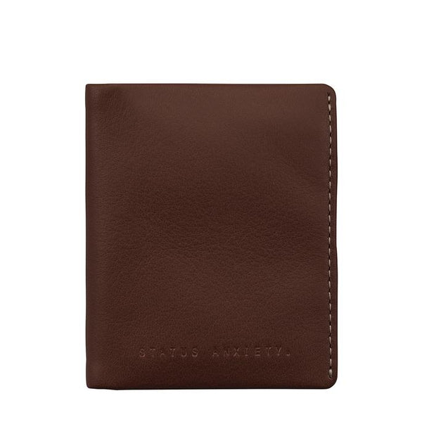 Status Anxiety Edwin Wallet- Chocolate