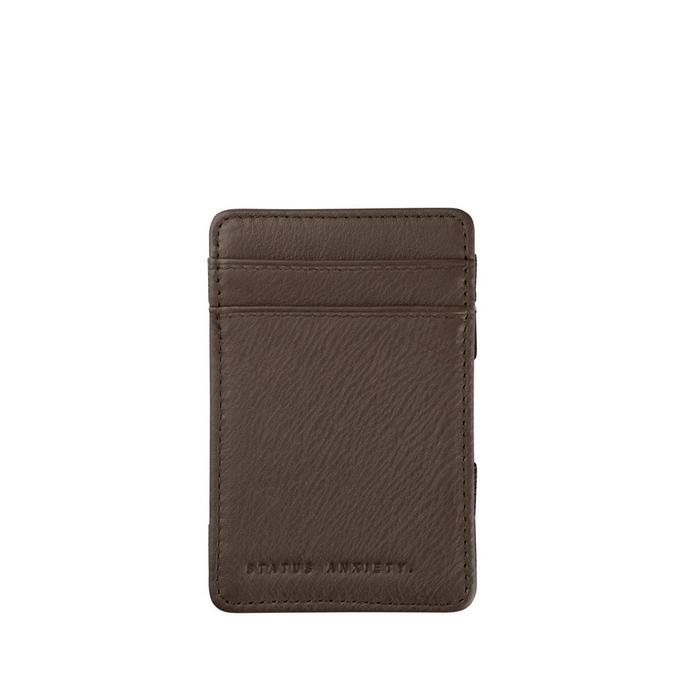 Flip Wallet- Chocolate