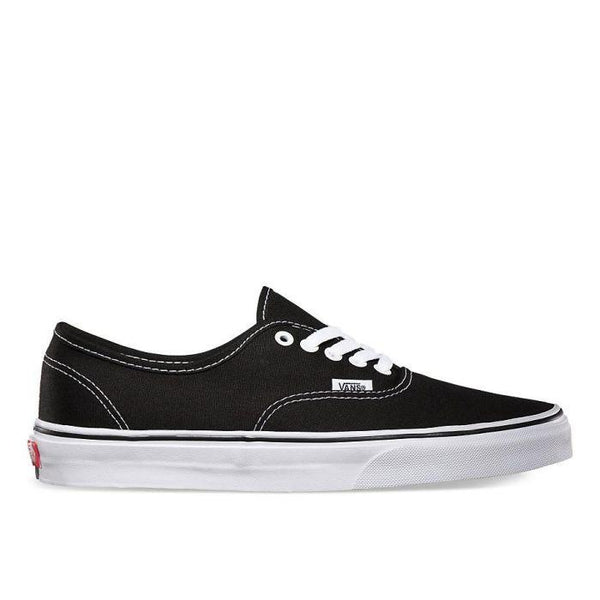 Vans Authentic Shoes- Black/White