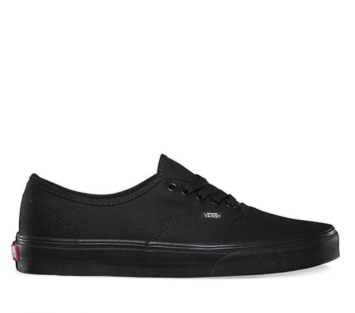 Vans Authentic Shoes- Black/Black
