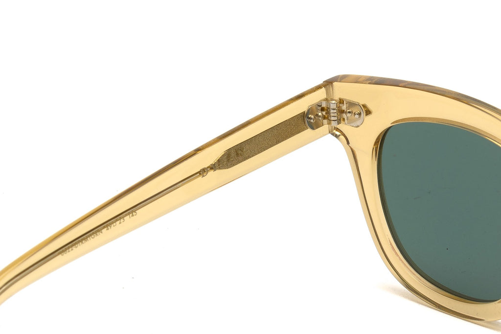 Epokhe Dylan Sunglasses- Citrine/Polished Green