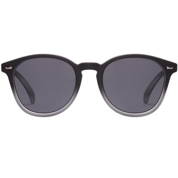 Le Specs Bandwagon Sunglasses- Black Rubber Fade