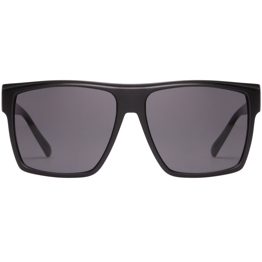 Le Specs Dirty Magic Sunnies- Matte Black/Gloss Black - Front