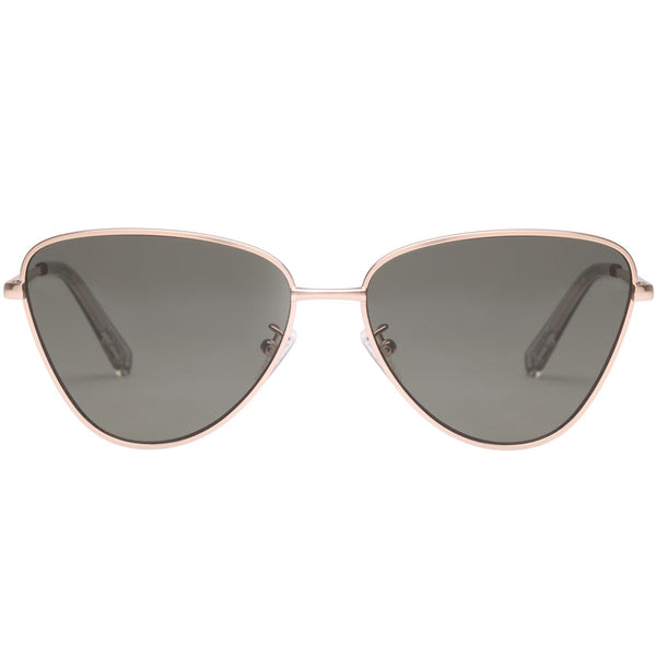 Le Specs Echo Sunnies- Gold - Front