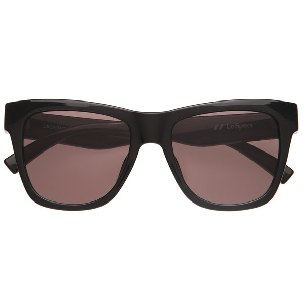 Le Specs Escapade Sunnies- Black - Front