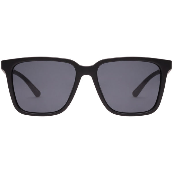 Le specs Fair Game Sunnies- Matte Black - Front