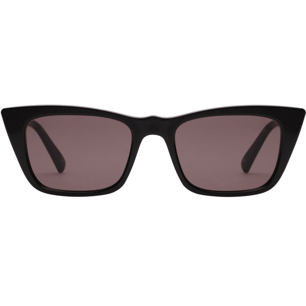 Le Specs I Feel Love Sunnies- Black - Front