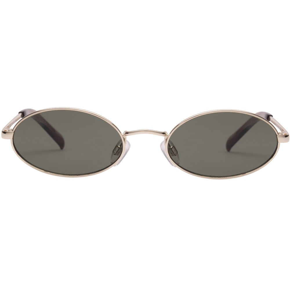 Le Specs Love Train Sunglasses- Bright Gold