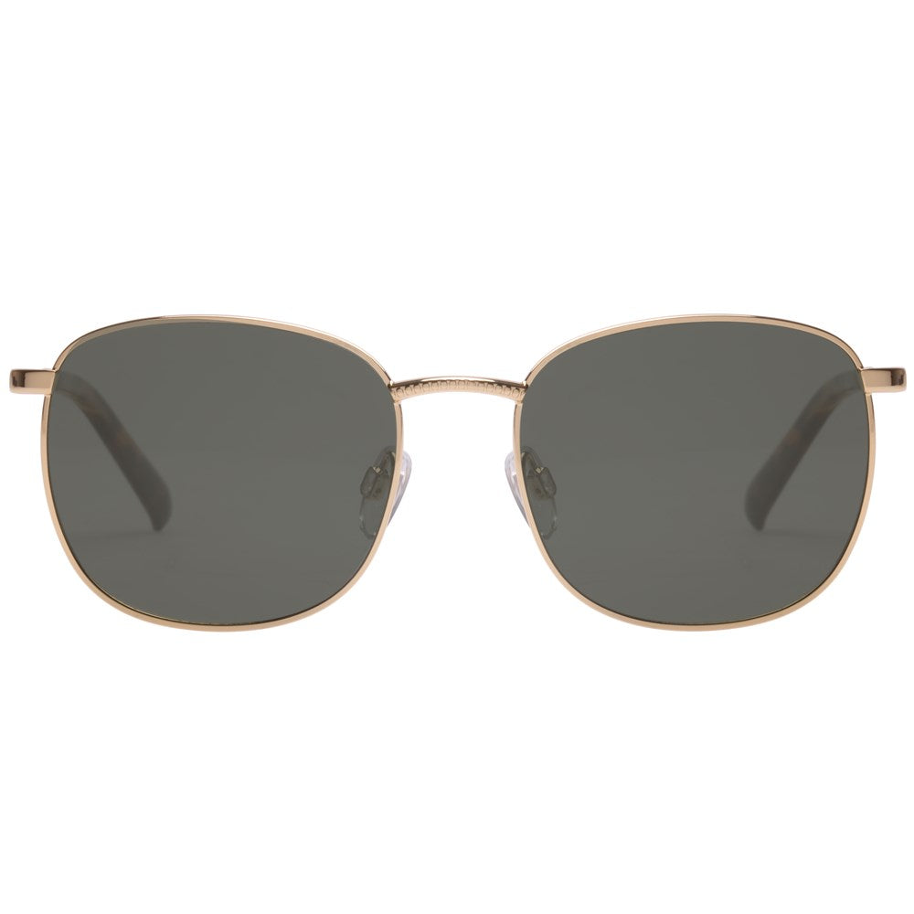Le Specs Neptune Sunnies- Bright Gold - Front