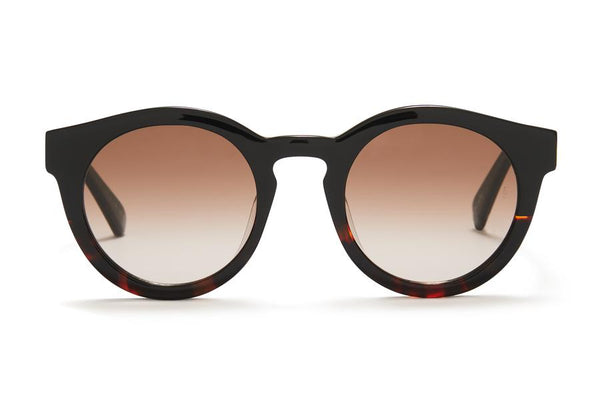 Sunday Somewhere Soelae Sunnies- Black/Mid Choc Tort