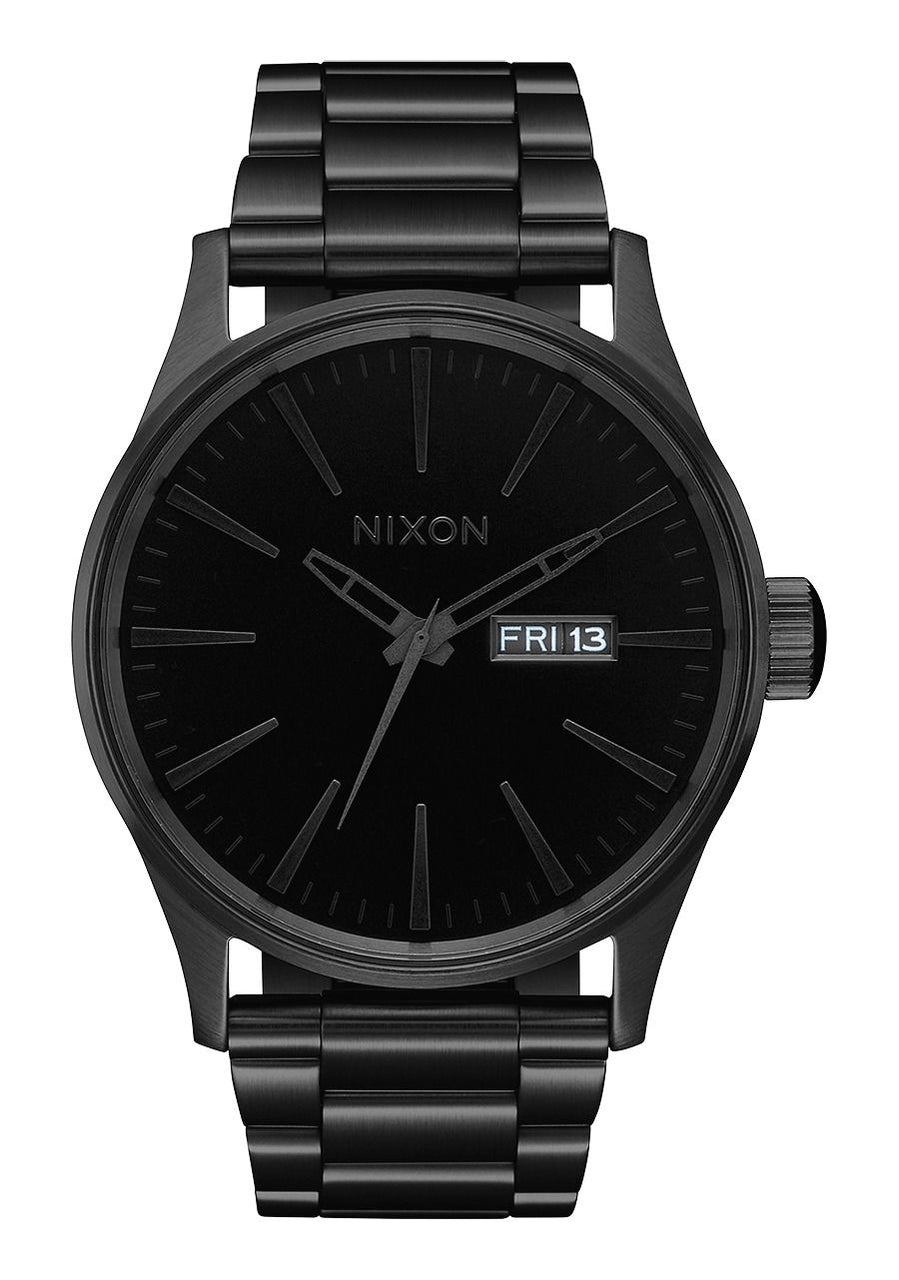 Nixon Sentry SS- All Black/Black - Front