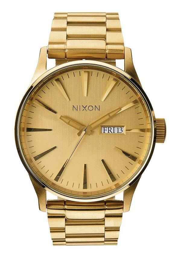 Nixon Sentry SS- All Gold - Front
