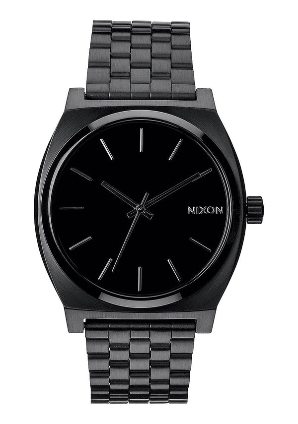 Nixon Time Teller- All Black - Front