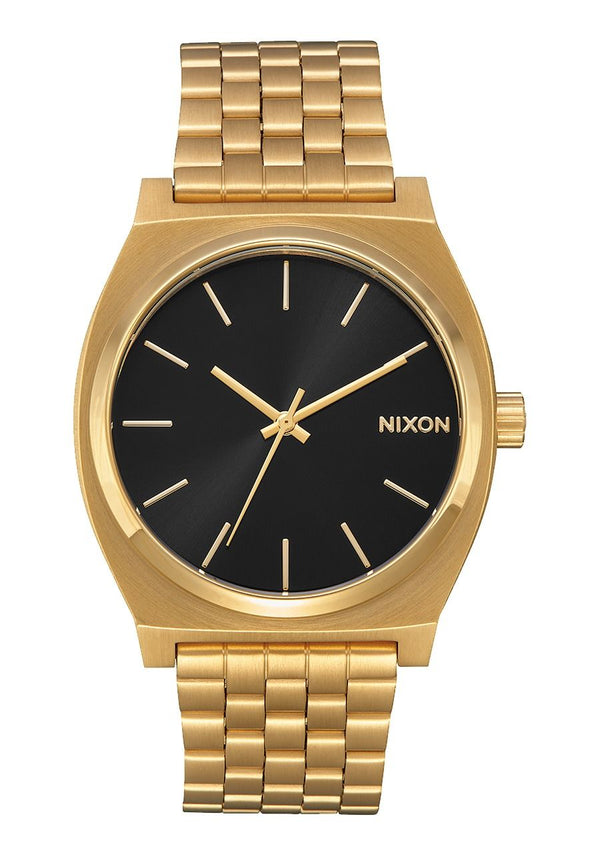 Nixon Time Teller- All Gold/Black Sunray - Front