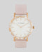 The Horse R Watch- Pink Nougat/White/Pink
